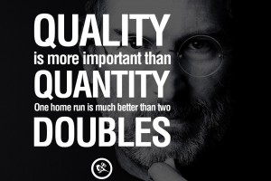 Steve Jobs - Quality quote
